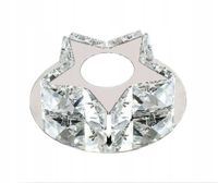 Lampa sufitowa Glamour PLAFON Kinkiet LED 12cm 3W kryształ