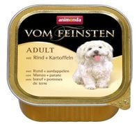 Animonda Vom Feinsten Dog Adult Wołowina I Ziemniaki 150G