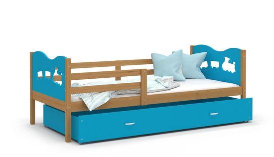 Łóżko parterowe MAX P 160x80