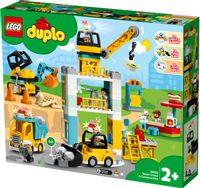 Klocki Lego DUPLO 10933 Żuraw wieżowy i budowa