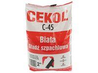 Gładź szpachlowa biała Cekol C-45 (2 kg)