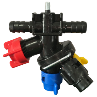Głowica obrotowa przelotowa RSM opryskiwacza na śrubkę