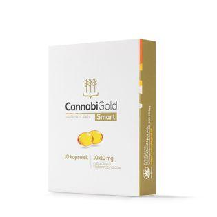CannabiGold SMART - 10 kapsułek