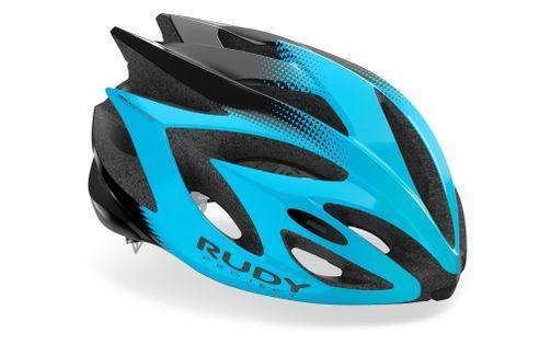 Kask rowerowy Rudy Project Rush Azur - Black (Shiny) rozmiar L 59 – 62cm 2021