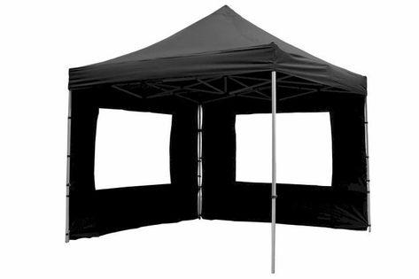 Namiot ogrodowy 3x3 m automatyczny Profi, niebieski pawilon handlowy