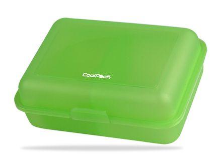 Śniadaniówka szkolna transparentna CoolPack Frozen zielona