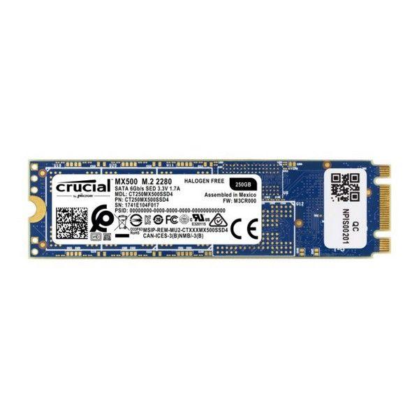 Dysk Twardy Crucial CT250MX500SSD4 SSD 250 GB SATA III zdjęcie 2