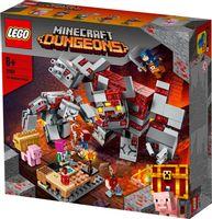 Klocki LEGO Minecraft 21163 Bitwa o czerwony kamień