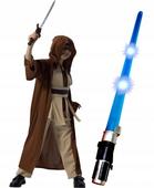 RYCERZ JEDI Strój KARNAWAŁOWY Star Wars 128 +MIECZ