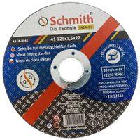 Tarcza do cięcia metalu Schmith (śr. 125 mm, gr. 1.5 mm)