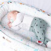Dwustronny Kokon niemowlęcy Woodland zdjęcie 6
