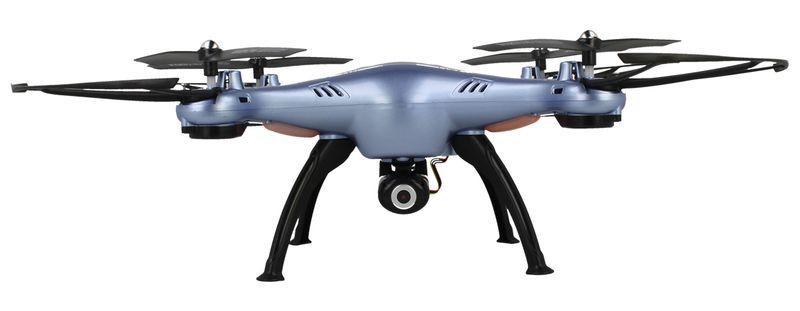 Dron Syma X5HW kamera Wi-Fi funkcja zawisu Niebieski Y142N zdjęcie 3