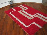 Dywan JAZZY DASH czerwień 100x200 cm czerwony