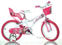 Włoski rowerek rower Disney Myszka Minnie Mouse 16 cali Myszka 16 cali