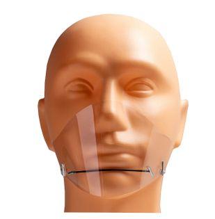 Maseczka na brodę mini przyłbica osłona usta nos