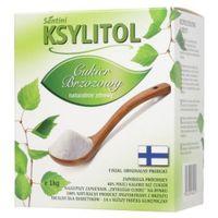 Ksylitol,xylitol 1kg CZYSTY FIŃSKI cukier brzozowy