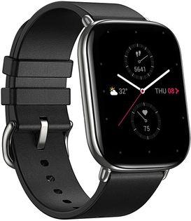 Zepp E Smartwatch Huami Xiaomi Prostokątny Polar Night Black Amazfit Pulsoksymetr A1958