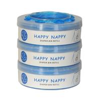 Wkład Happy Nappy do Tommee Tippee Sangenic, Sangenic TEC, Twist & Click 3-Pak