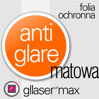 "Folia Ochronna Gllaser MAX Anti-Glare do 15,6"" W"