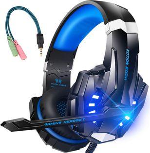 Słuchawki Gamingowe dla graczy Kotion Each G9000 LED Mikrofon M156