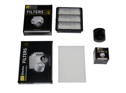 zestaw filtrów KIA Ceed 1.6 1.4 2.0 benzyna 3szt.