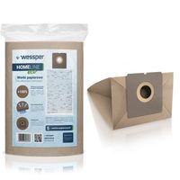 Papierowe worki do odkurzaczy Wessper WES1018 HomeLine Eco