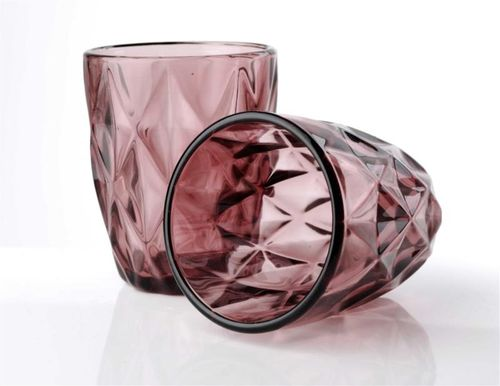 Szklanka różowa 250 ml na Arena.pl