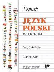 Język Polski w Liceum nr 4 2015/2016 praca zbiorowa