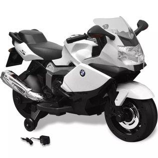 MOTOCYKL MOTOR ELEKTRYCZNY DLA DZIECI BMW BIAŁY