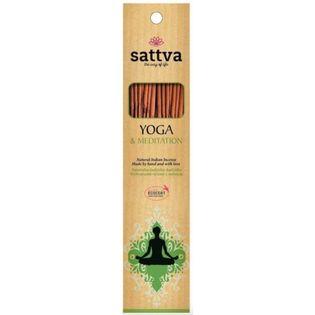 Sattva Naturalne Kadzidła Yoga & Meditation 30G