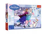 Puzzle 160 el Frozen Kraina Lodu Jazda na łyżwach