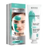 Revuele Maska Revuele do twarzy, zielona