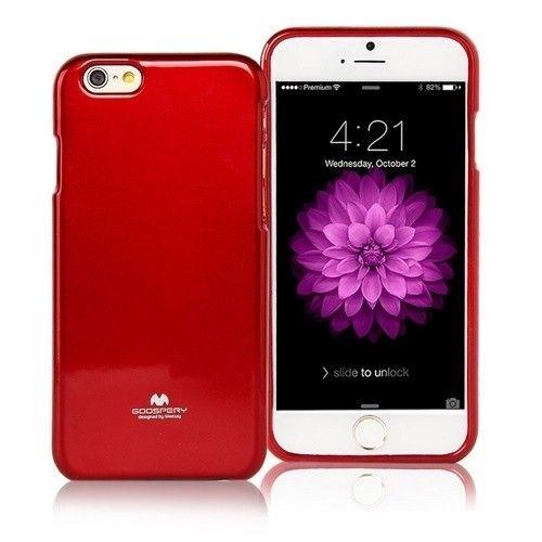 Mercury Jelly Case Etui do LG Q7 / Q7 Plus czerwony na Arena.pl