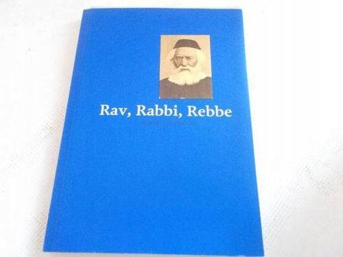 RAV, RABBI, REBBE - Ringelblum na Arena.pl