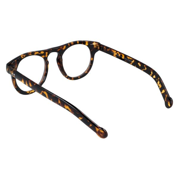 Owalne okulary zerówki vintage zdjęcie 3