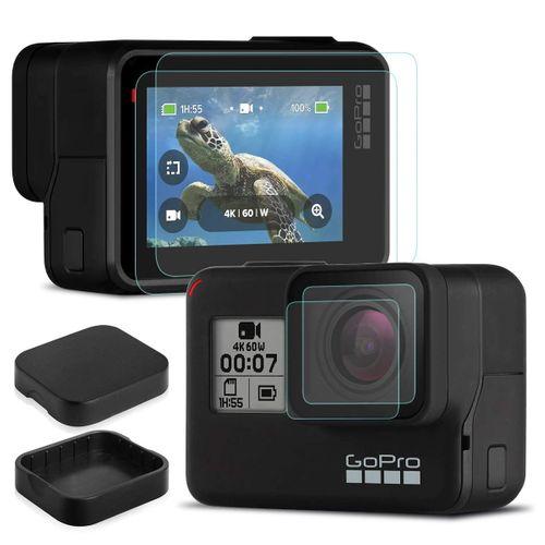 szkło hartowane ochronne do kamer sportowych GoPro Hero 5 6 7 na Arena.pl