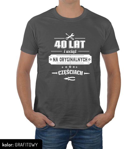 2ad9330e4 Koszulka męska na urodziny 30 40 50 60 70 lat L • Arena.pl