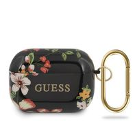Etui Guess GUACAPTPUBKFL04 Apple AirPods Pro cover czarny/black N.4 Flower Collection