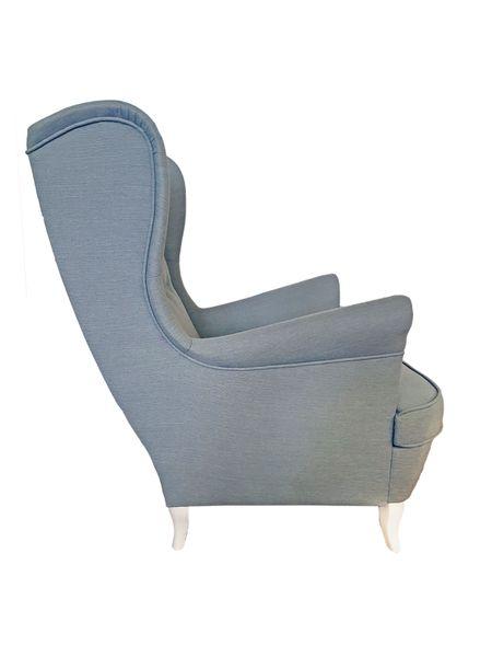 Fotel Uszak Skandynawski - stylowy design zdjęcie 18
