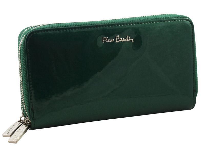 Saszetka podwójna damska Pierre Cardin, kolor zielony zdjęcie 1