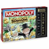 Hasbro Gra Monopoly Pionkowe Szaleństwo