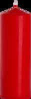 BISPOL czerwona 1000g 1szt - świeca walec