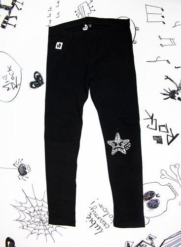 Rockowe czarne legginsy dziecięce Rock Star Mia Rock 68 na Arena.pl