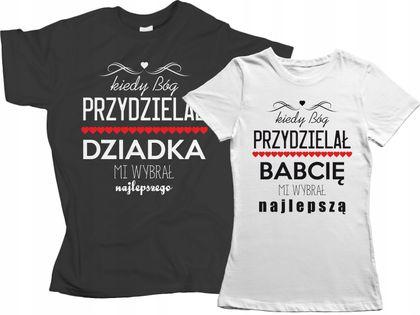 Zestaw koszulek dla DZIADKA BABCI prezent Dzień !!