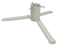 TUCHMET Stojak pod choinkę składany 3-nożny AGA fi 90 z pojemnikiem na wodę - kolor biały