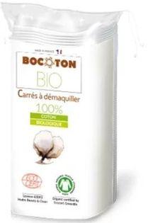 Bocoton Płatki Kosmetyczne Kwadratowe Bio 40Szt.