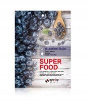 Maseczka w płacie - Maska Superfood – Borówka