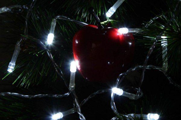Lampki świąteczne 30 LED na baterie 3m zimny biały Joylight zdjęcie 10