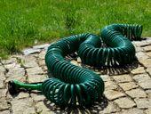 Spiralny wąż ogrodowy 15m + 5-funkcyjny pistolet zdjęcie 2