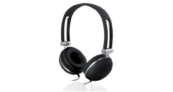 Słuchawki IBOX HPI D005 BLACK SHPID005BK